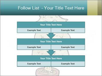 Cartoon christmas tree PowerPoint Template - Slide 60
