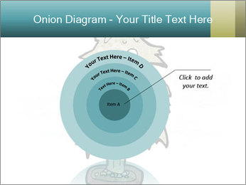 Cartoon christmas tree PowerPoint Templates - Slide 61