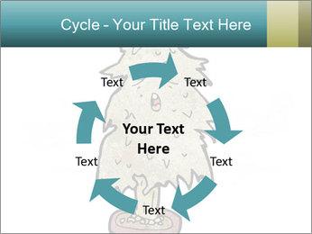 Cartoon christmas tree PowerPoint Template - Slide 62