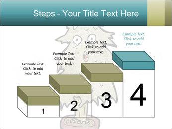 Cartoon christmas tree PowerPoint Templates - Slide 64