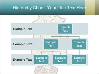 Cartoon christmas tree PowerPoint Template - Slide 67