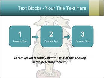 Cartoon christmas tree PowerPoint Template - Slide 71