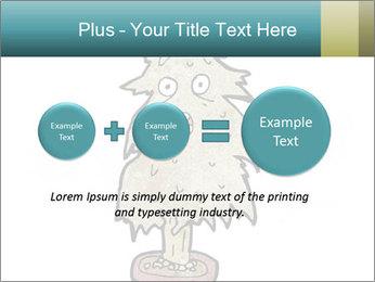 Cartoon christmas tree PowerPoint Templates - Slide 75