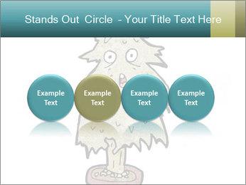 Cartoon christmas tree PowerPoint Template - Slide 76