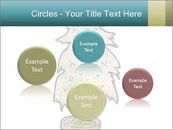 Cartoon christmas tree PowerPoint Templates - Slide 77