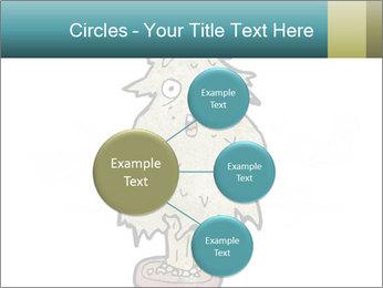 Cartoon christmas tree PowerPoint Template - Slide 79