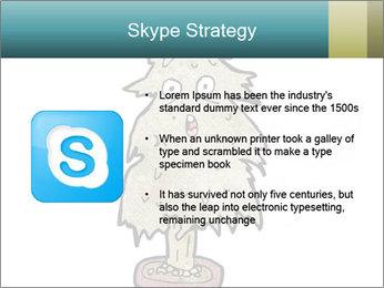 Cartoon christmas tree PowerPoint Template - Slide 8