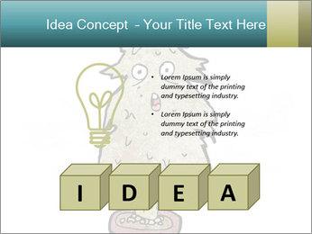 Cartoon christmas tree PowerPoint Template - Slide 80
