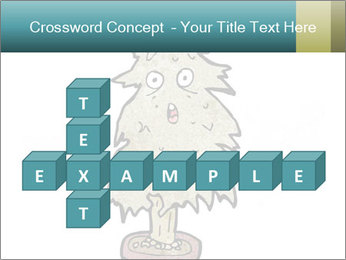 Cartoon christmas tree PowerPoint Template - Slide 82