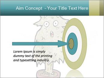 Cartoon christmas tree PowerPoint Templates - Slide 83