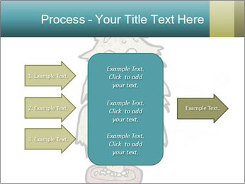 Cartoon christmas tree PowerPoint Template - Slide 85