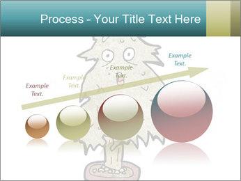 Cartoon christmas tree PowerPoint Template - Slide 87