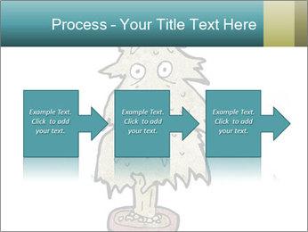 Cartoon christmas tree PowerPoint Templates - Slide 88