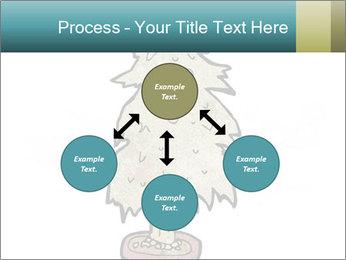 Cartoon christmas tree PowerPoint Template - Slide 91