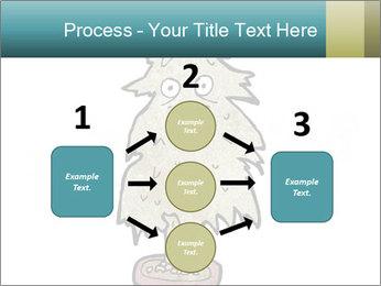 Cartoon christmas tree PowerPoint Template - Slide 92