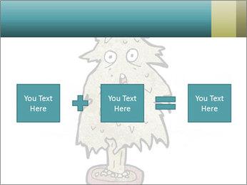 Cartoon christmas tree PowerPoint Templates - Slide 95