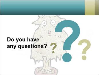 Cartoon christmas tree PowerPoint Templates - Slide 96