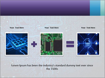 Circuit board PowerPoint Templates - Slide 22