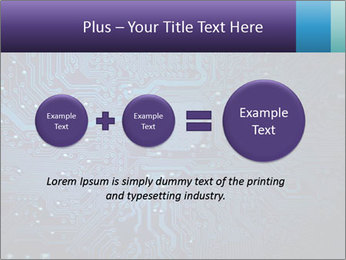 Circuit board PowerPoint Templates - Slide 75