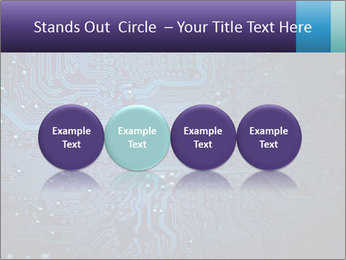 Circuit board PowerPoint Templates - Slide 76