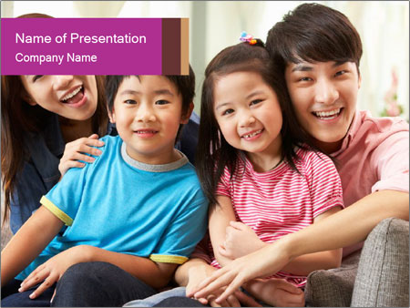 Chinese Family PowerPoint Templates