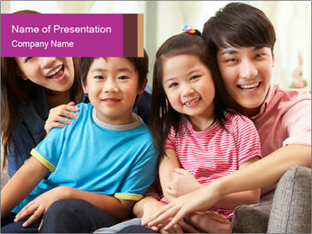 Chinese Family PowerPoint Templates - Slide 1