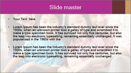 Chinese Family PowerPoint Template - Slide 2