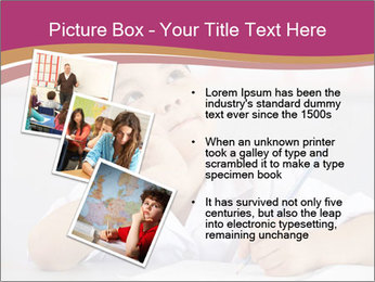 Chinese School Classroom PowerPoint Template - Slide 17