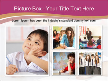Chinese School Classroom PowerPoint Template - Slide 19