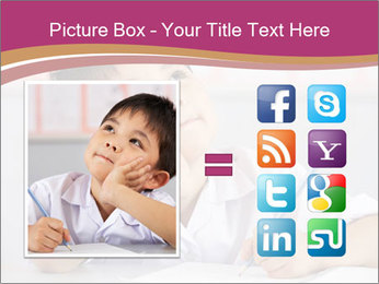 Chinese School Classroom PowerPoint Template - Slide 21