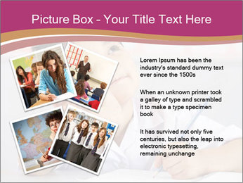 Chinese School Classroom PowerPoint Template - Slide 23