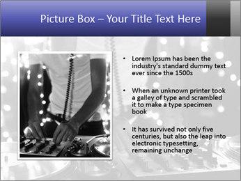 A cool male dj PowerPoint Template - Slide 13