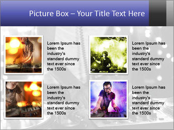 A cool male dj PowerPoint Templates - Slide 14