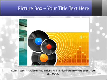 A cool male dj PowerPoint Templates - Slide 15