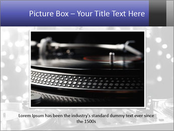A cool male dj PowerPoint Templates - Slide 16