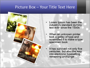A cool male dj PowerPoint Templates - Slide 17