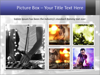 A cool male dj PowerPoint Templates - Slide 19