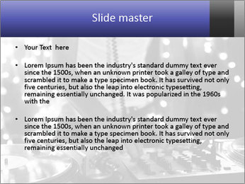 A cool male dj PowerPoint Template - Slide 2