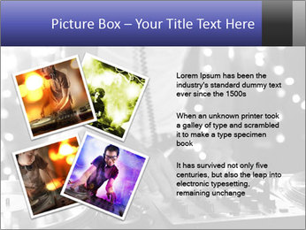 A cool male dj PowerPoint Templates - Slide 23