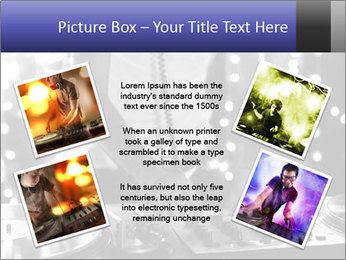 A cool male dj PowerPoint Templates - Slide 24