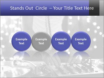 A cool male dj PowerPoint Template - Slide 76