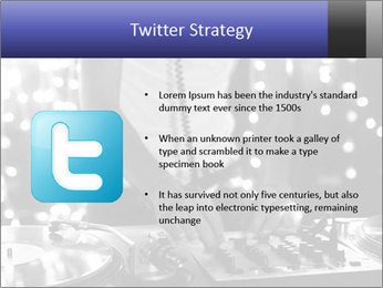 A cool male dj PowerPoint Templates - Slide 9