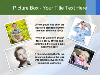 Little kid is sad PowerPoint Templates - Slide 24