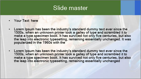 Little kid is sad PowerPoint Template - Slide 2
