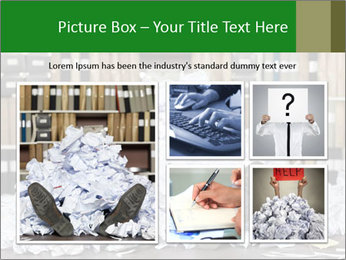 Buried in papers PowerPoint Templates - Slide 19