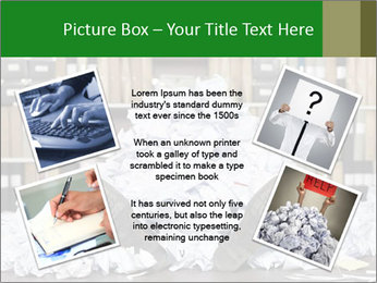 Buried in papers PowerPoint Templates - Slide 24