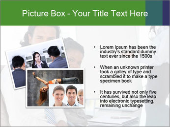 Meeting room during a presentation PowerPoint Template - Slide 20