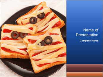 Halloween party PowerPoint Templates - Slide 1