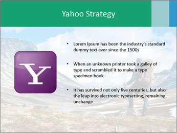Mountain panorama PowerPoint Template - Slide 11