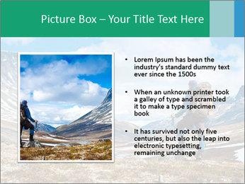 Mountain panorama PowerPoint Template - Slide 13